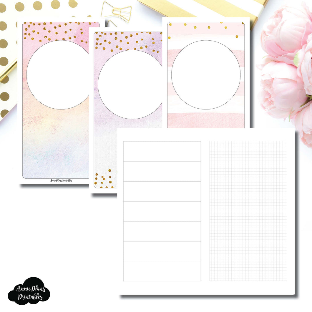 Standard TN Size | HWeeks Weekly Layout Printable Insert ©