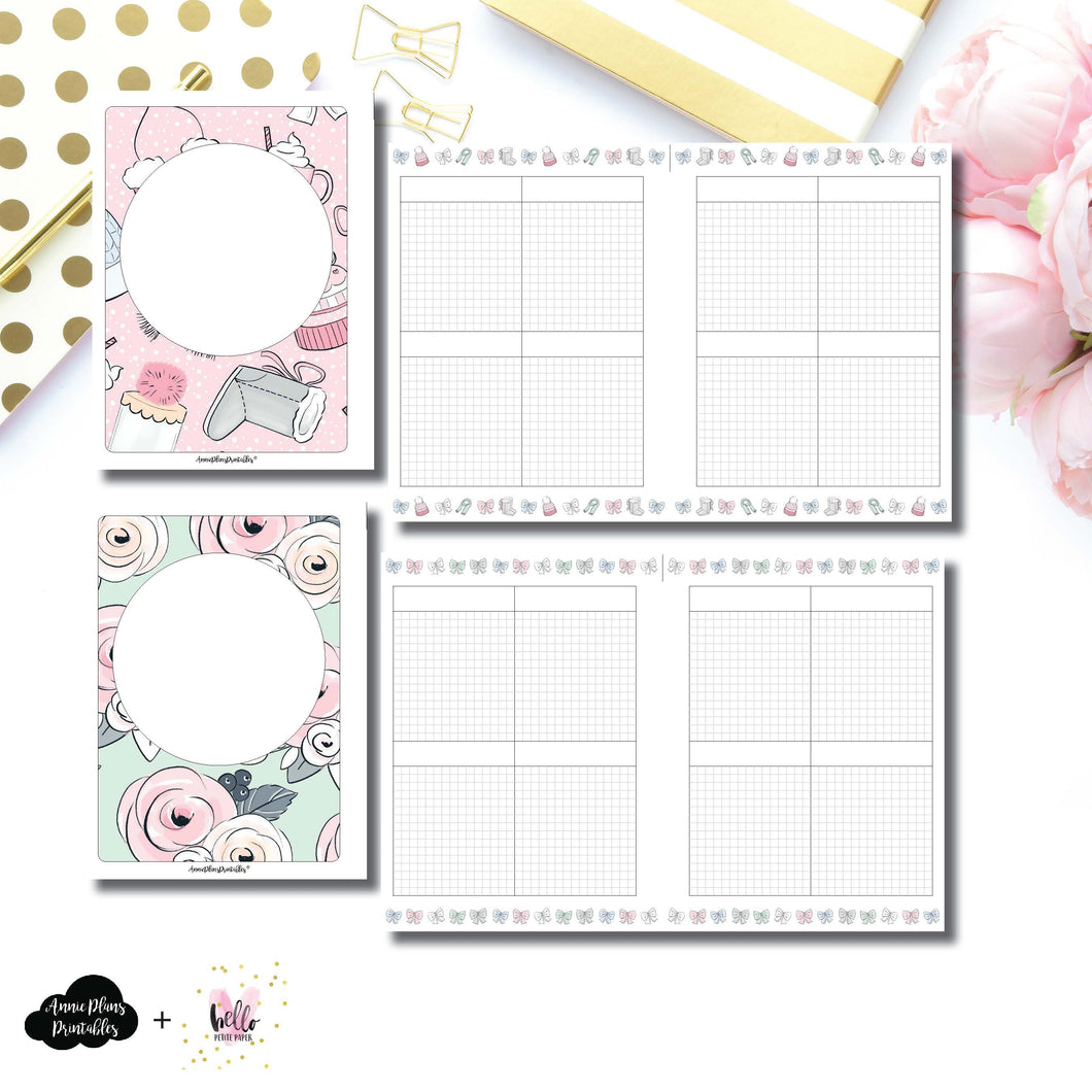 B6 Rings Size | Limited Edition HelloPetitePaper Collaboration Printable Inserts ©