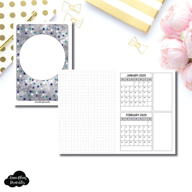 A6 TN Size | 18 Month (JAN 2020 - JUN 2021) Forward Planning Printable Insert ©