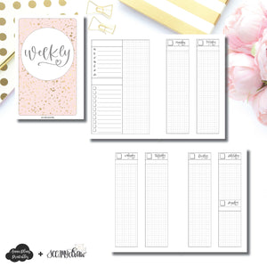 Mini HP Size | SeeAmyDraw Undated Weekly Collaboration Printable Insert ©