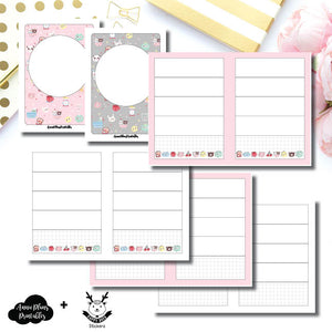 Passport TN Size | New Weeks Horizontal Layout - HappyDaya Collaboration Printable Insert ©