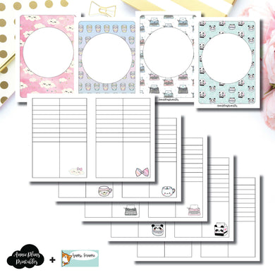 Passport TN Size | HappieScrappie Lists/Weekly Collaboration Printable Insert ©