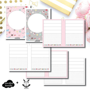 B6 Rings Size | New Weeks Horizontal Layout - HappyDaya Collaboration Printable Insert ©