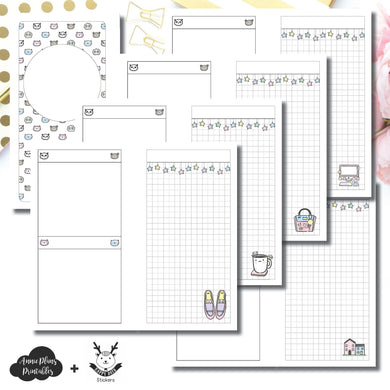 H Weeks Size | HappyDaya Collaboration Printable Insert ©