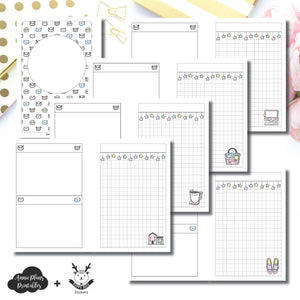A6 Rings Size | HappyDaya Collaboration Printable Insert ©