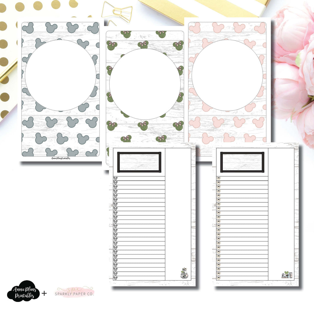 Cahier TN Size | Farmhouse Magic Daily Lists Printable Insert ©