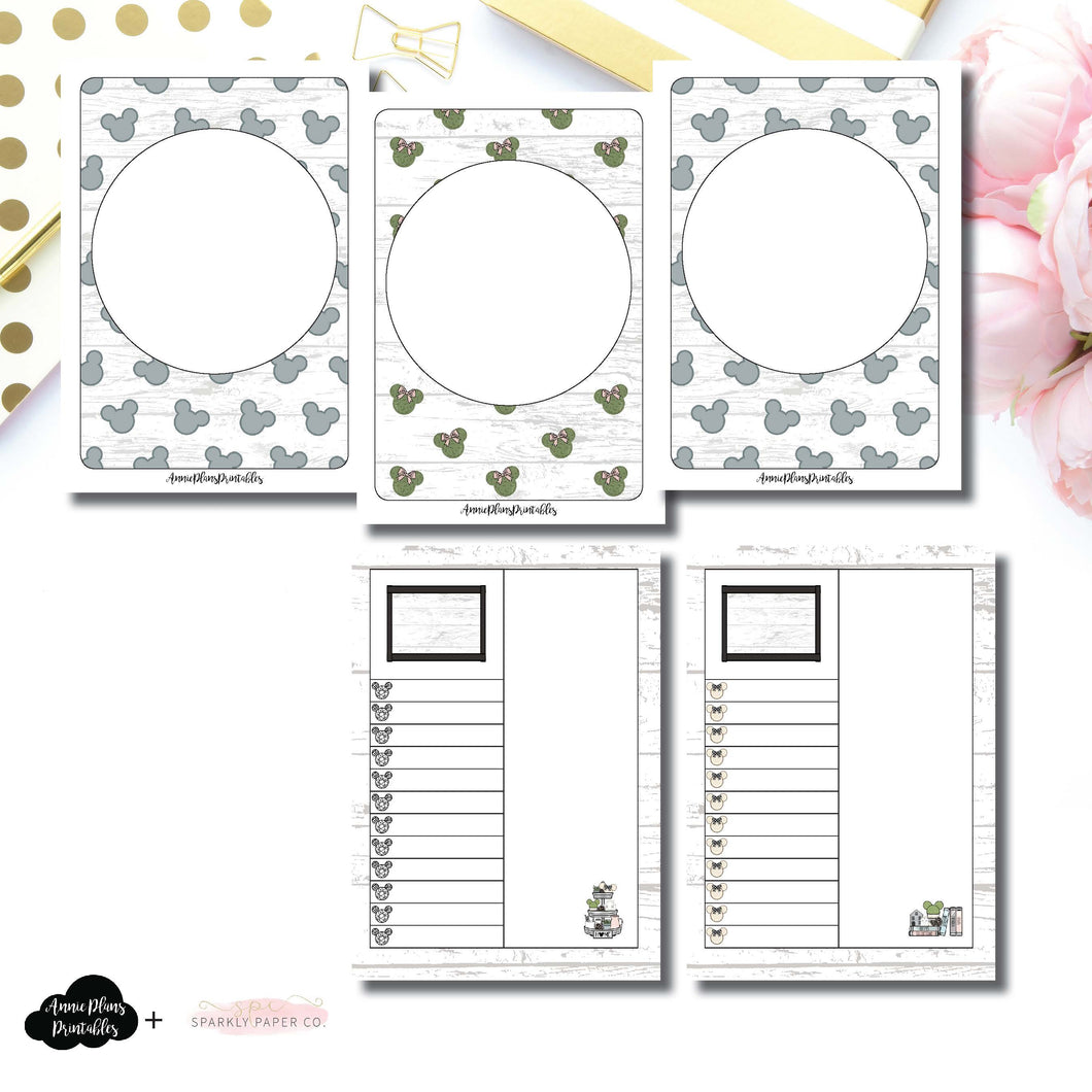 Passport TN Size | Farmhouse Magic Daily Lists Printable Insert ©