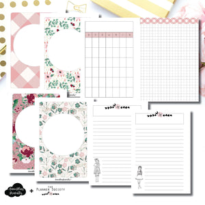 A6 Rings Size | Limited Edition TPS November Collaboration Bundle Printable Inserts ©