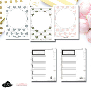 B6 Rings Size | Farmhouse Magic Daily Lists Printable Insert ©