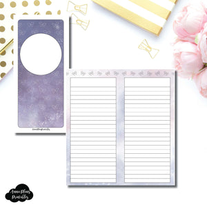 H Weeks Size | Galaxy Notes Fox & Pip Collaboration Printable Insert ©