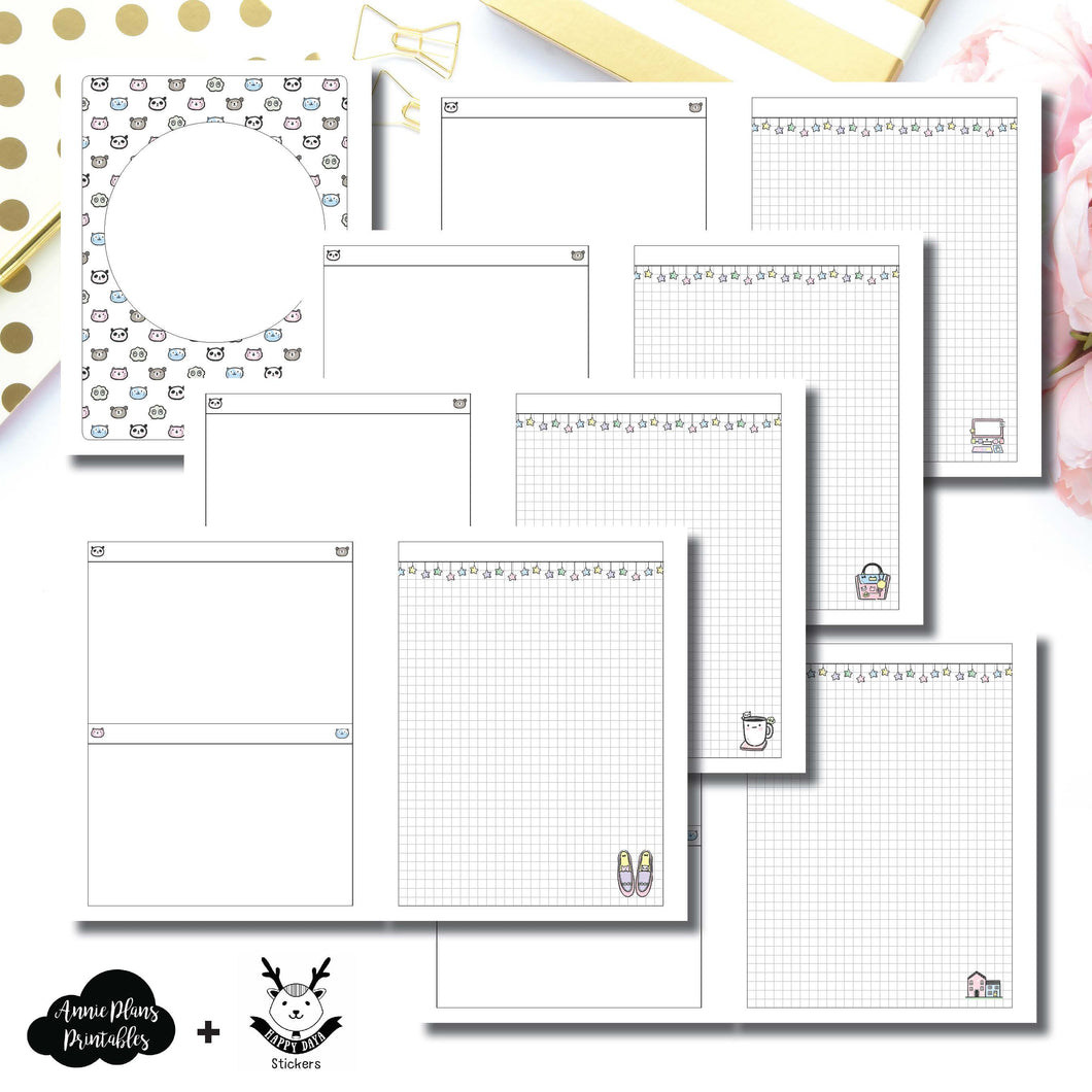 Classic HP Size | HappyDaya Collaboration Printable Insert ©