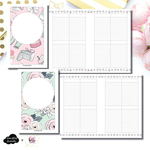 Half Letter Rings Size | Limited Edition HelloPetitePaper Collaboration Printable Inserts ©