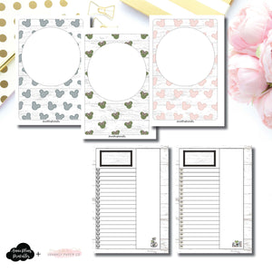 A6 Rings Size | Farmhouse Magic Daily Lists Printable Insert ©