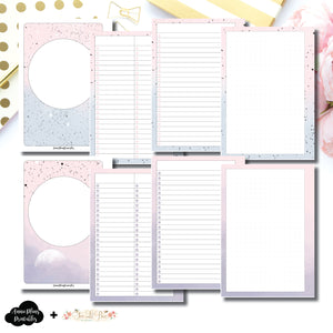 Personal Wide Rings Size | Lists & Notes TwoLilBees Collaboration Bundle Printable Inserts ©