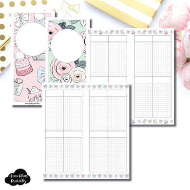 H Weeks Size | Limited Edition HelloPetitePaper Collaboration Printable Inserts ©