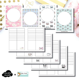 Micro TN Size | HappieScrappie Lists/Weekly Collaboration Printable Insert ©