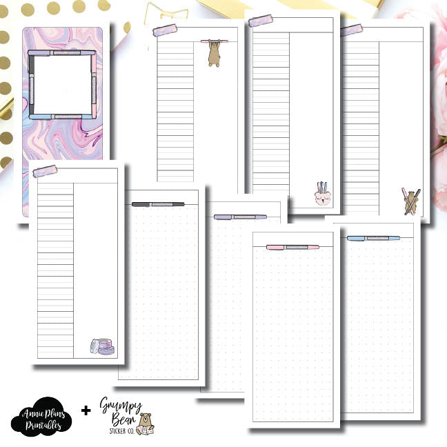 H Weeks Size | Grumpy Bear 2.0 Collaboration Printable Insert ©