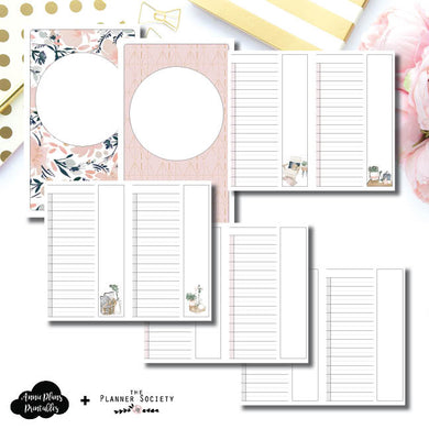 Half Letter Rings Size | Limited Edition TPS May Collaboration Bundle Printable Inserts ©
