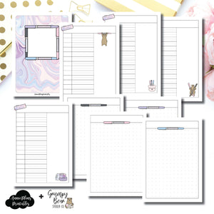 A6 TN Size | Grumpy Bear 2.0 Collaboration Printable Insert ©