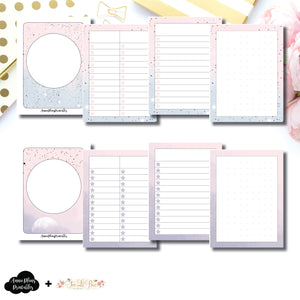Micro TN Size | Lists & Notes TwoLilBees Collaboration Bundle Printable Inserts ©