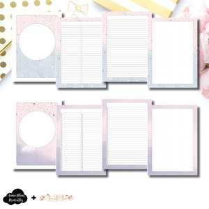 A5 Rings Size | Lists & Notes TwoLilBees Collaboration Bundle Printable Inserts ©