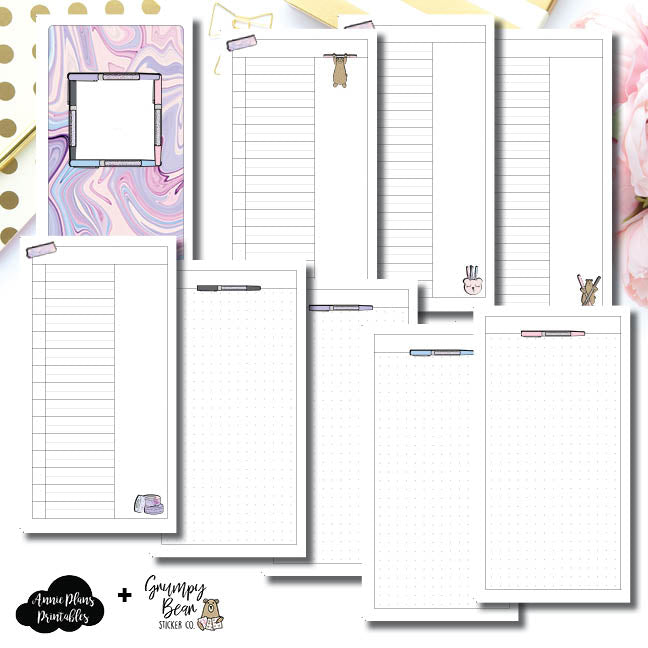 Standard TN Size | Grumpy Bear 2.0 Collaboration Printable Insert ©