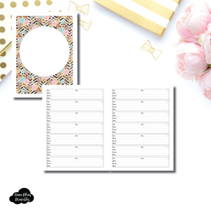 Classic HP Size | Appointment Tracker Printable Insert ©