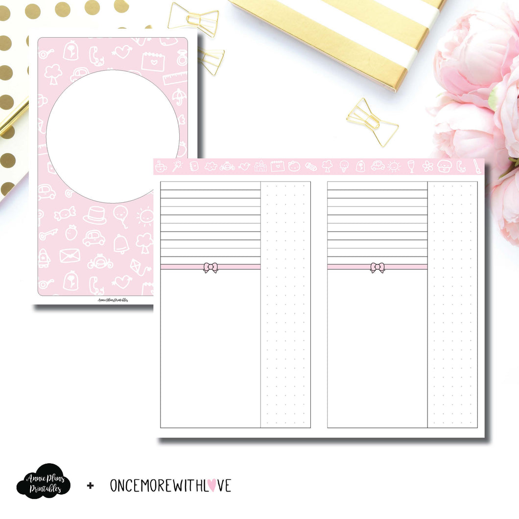 Cahier TN Size | OnceMoreWithLove Anniversary Collaboration Printable Insert ©