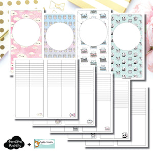 Standard TN Size | HappieScrappie Lists/Weekly Collaboration Printable Insert ©