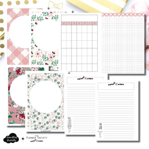 Personal Wide Rings Size | Limited Edition TPS November Collaboration Bundle Printable Inserts ©