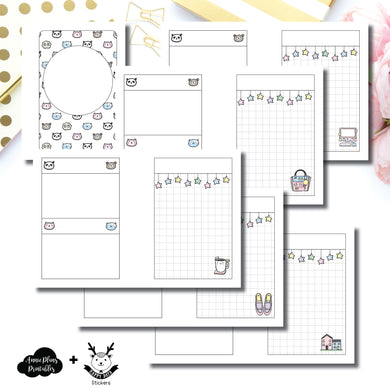 Micro HP Size | HappyDaya Collaboration Printable Insert ©
