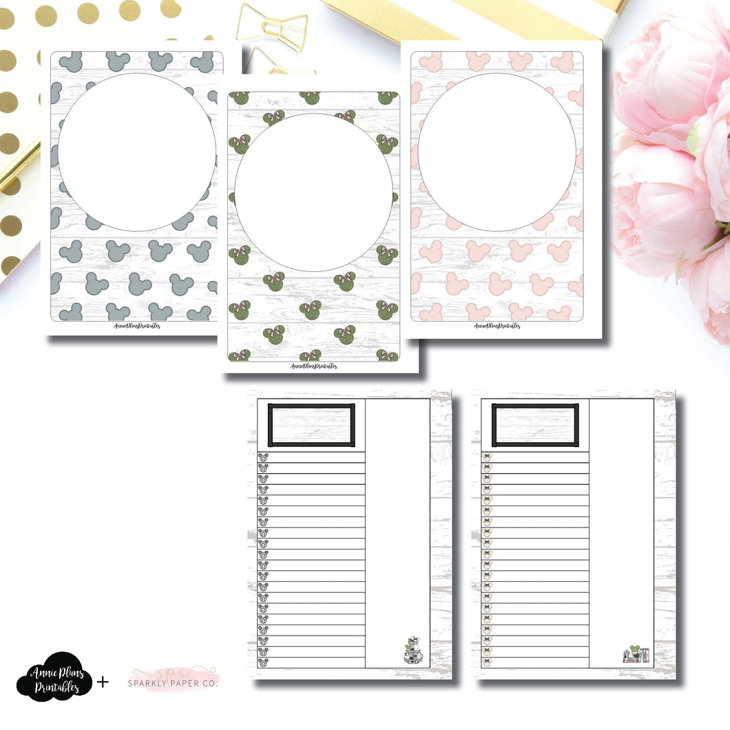 Personal Wide Rings Size | Farmhouse Magic Daily Lists Printable Insert ©