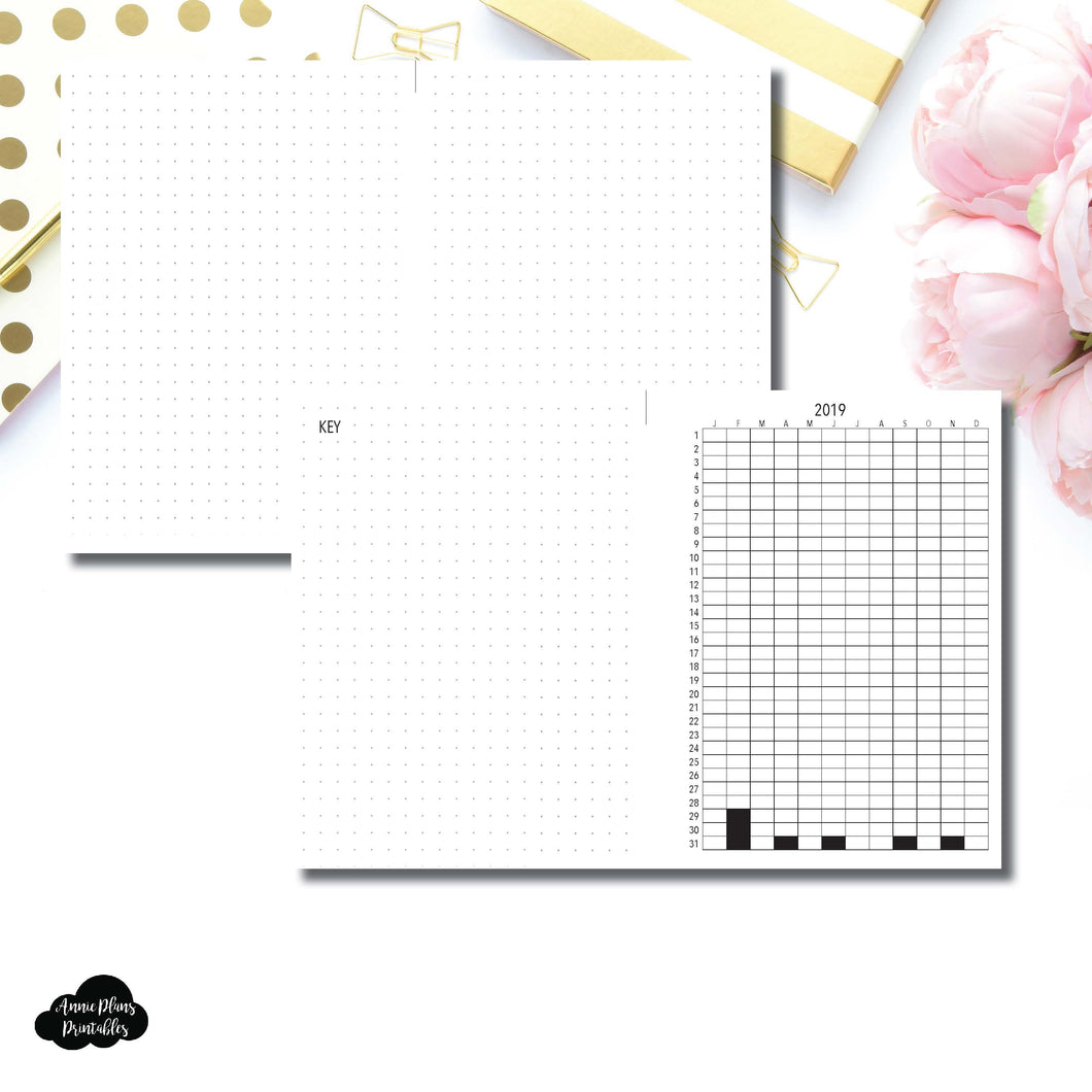 FREEBIE B6 Rings Size | 2019 Life in Pixels Printable
