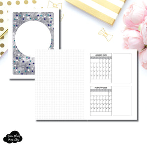 A5 Rings Size | 18 Month (JAN 2020 - JUN 2021) Forward Planning Printable Insert ©