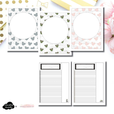 Classic HP Size | Farmhouse Magic Daily Lists Printable Insert ©