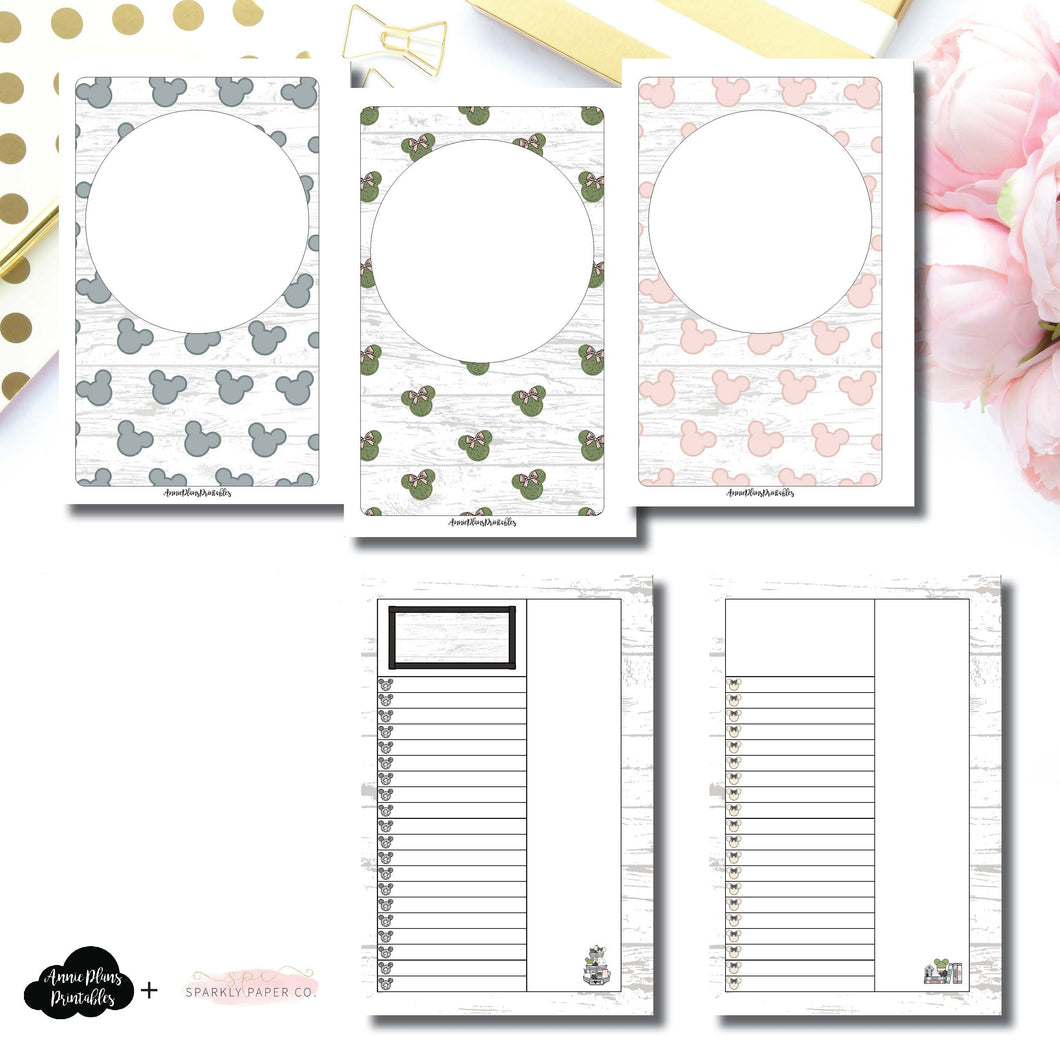 Mini HP Size | Farmhouse Magic Daily Lists Printable Insert ©