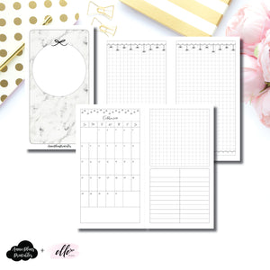 Personal TN Size | 15 Month (OCT 2019 - DEC 2020) EllePlan Collaboration Printable Insert ©