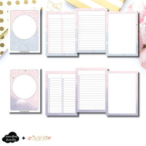 Passport TN Size | Lists & Notes TwoLilBees Collaboration Bundle Printable Inserts ©