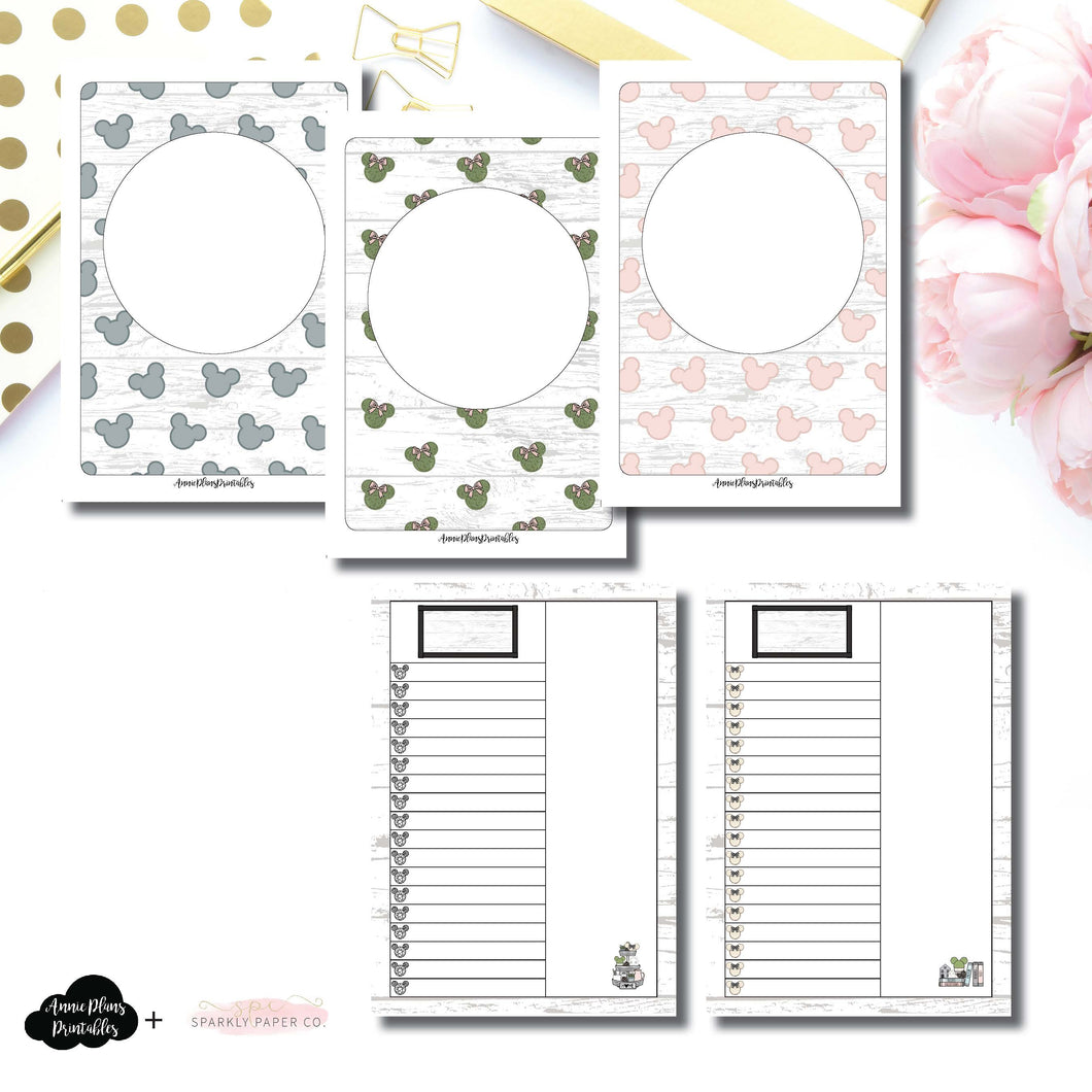 A6 TN Size | Farmhouse Magic Daily Lists Printable Insert ©