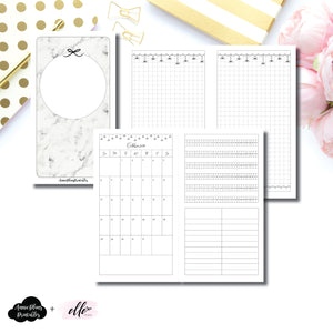 Personal TN Size | 15 Month (OCT 2019 - DEC 2020) + Tracker EllePlan Collaboration Printable Insert ©