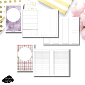 Mini HP Size | Libbie & Co March Mystery Kit Bundle Printable Inserts ©