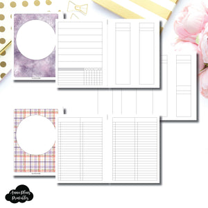 B6 Rings Size | Libbie & Co March Mystery Kit Bundle Printable Inserts ©