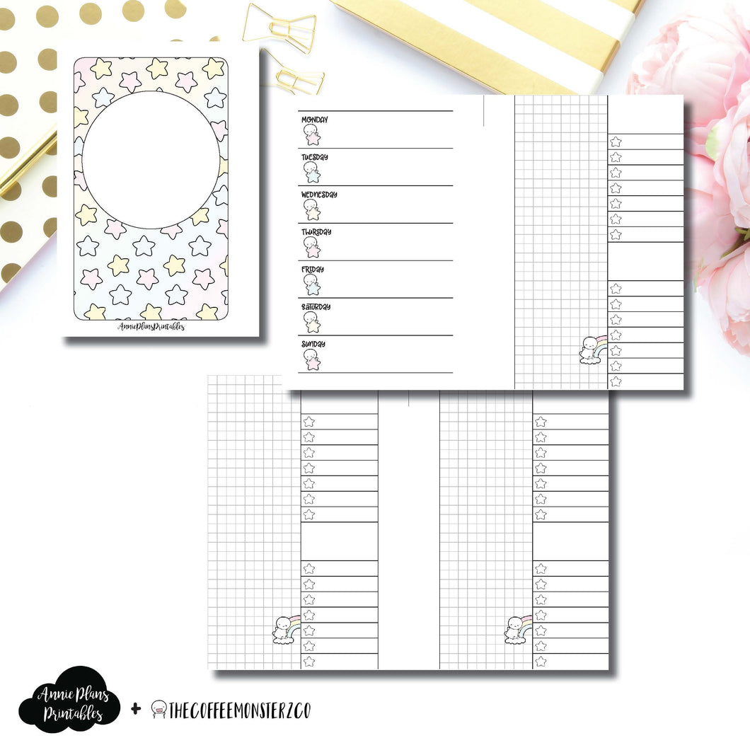 Pocket Rings Size | TheCoffeeMonsterzCo Collaboration Weekly/Daily Printable Insert ©