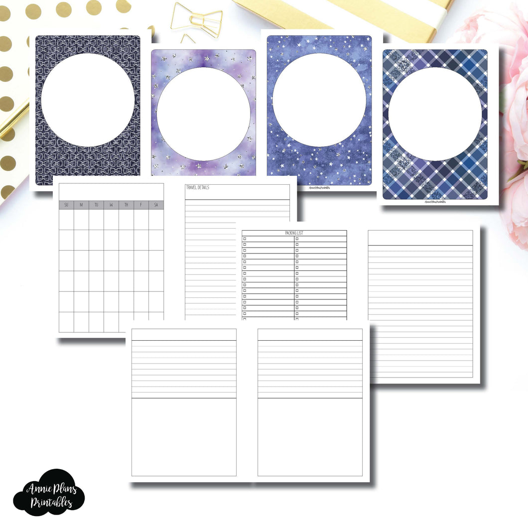 B6 Rings Size | Planner Meet Up/Travel Plans Printable Insert ©