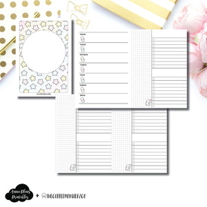 A6 TN Size | TheCoffeeMonsterzCo Collaboration Weekly/Daily Printable Insert ©