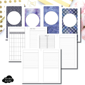 Personal Rings Size | Planner Meet Up/Travel Plans Printable Insert ©