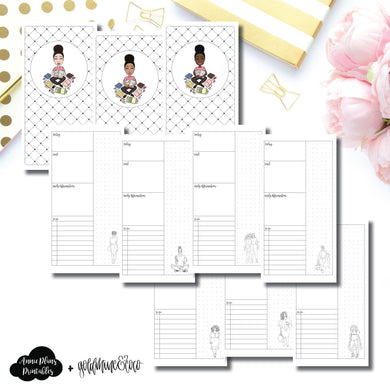 Standard TN Size | Goldmine & Coco Daily Collaboration Printable Inserts ©