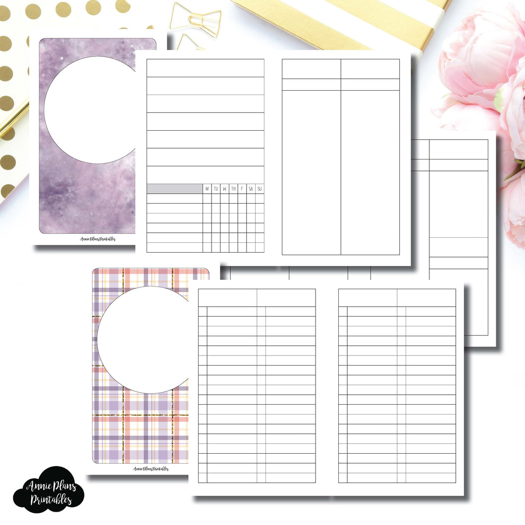 Pocket TN Size | Libbie & Co March Mystery Kit Bundle Printable Inserts ©