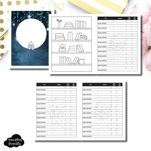 Classic HP Size | SpotDrop Collaboration Reading Book Log Printable Insert ©