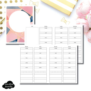Classic HP Size | Wellness Tracker Printable Insert ©